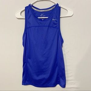 Nike Blue Tank Top | Womens Small